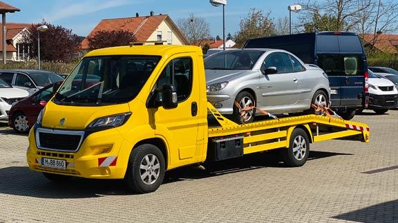 Ankauf und Transport von Gebrauchtwagen