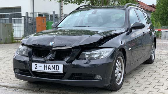 BMW Unfallwagen verkaufen guter Preis